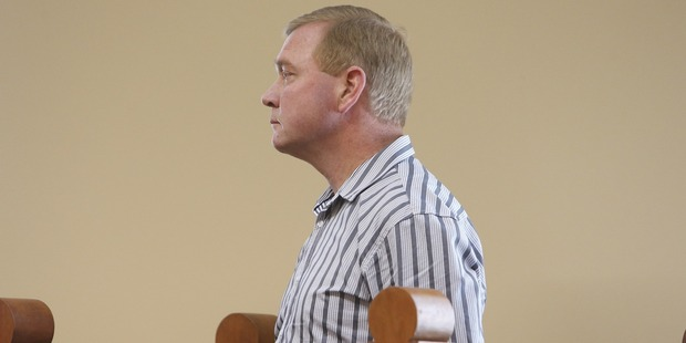 Russell Stewart appeared in Dargaville District Court this morning. Photo / Northern Advocate