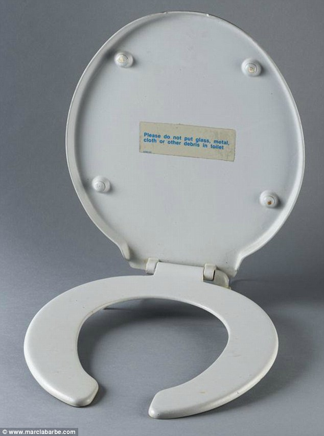 Even the Concordes' toilets will be up for grabs. Photo / www.marclabarbe.com