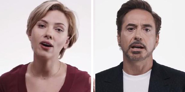 Loading Avengers stars Scarlett Johansson and Robert Downey Jr are among those supporting Whedon.