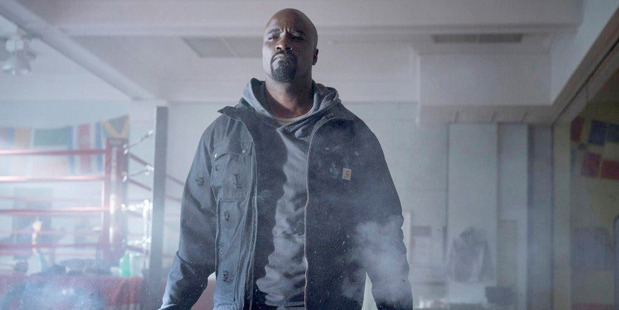 Loading Mike Colter stars as a reluctant hero who happens to be bulletproof in Marvel-Netflix's Luke Cage. Photo / Marvel-Netflix
