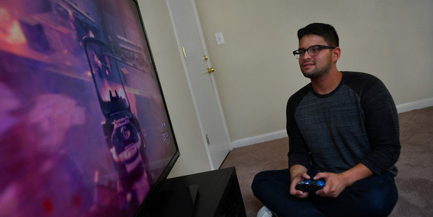 Danny Izquierdo enjoys playing video games on all platforms. Photo / Michael S. Williamson