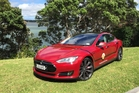 This high-performance Tesla electric car will make the trip from Cape Reinga to Bluff in April, giving people the chance to drive the latest electric vehicle technology.