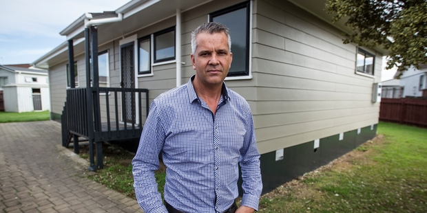 Property developer Troy Patchett says the sector is facing many issues. Photo / Michael Craig