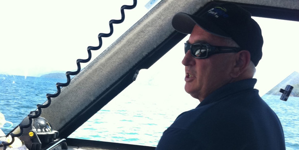 Kerry Blair on board his boat. His family are still in the dark as to what happened to him. Photo / Supplied