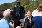 INVESTIGATOR: Transport Accident Investigation Commission's Rob Thompson in Whakatane.PHOTO/GEORGE NOVAK