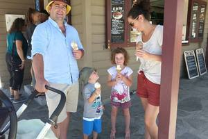 Dunedin is a great place to grow a family and a business, say Paul and Eloise McGrath (pictured).