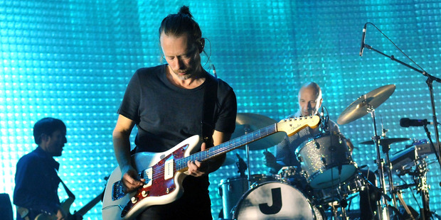 Radiohead are set to release their upcoming album in Spain. Photo / Getty Images