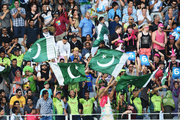 Pakistan fans during the Twenty20 match between New Zealand Black Caps and Pakistan at Eden Park on Friday. Photo / Photosport