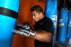 BAY HOPE: Kiki Toa Leutele wants to swap kerbside recycling for a professional boxing career. PHOTO/Duncan Brown