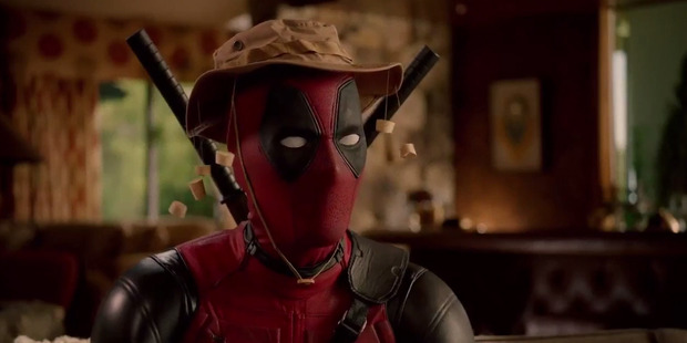 Actor Ryan Reynolds stars in the upcoming film, Deadpool.