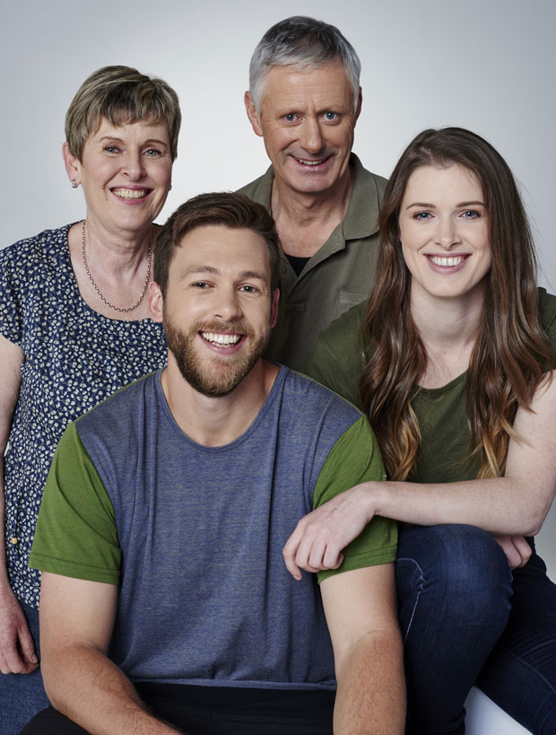 The Roughan family. Photo / Supplied
