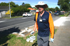 MPI Staff in setting traps in Manurewa after the discovery of a Tau Fly. Photo / Supplied