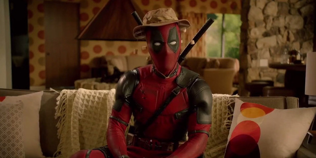 Loading Actor Ryan Reynolds stars in the upcoming film, Deadpool.