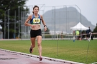 Sally Gibbs won a competitive 1500m race at the Athletics Tauranga's club night on Monday.