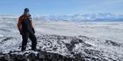 Scientists probe Antarctic ice sheet