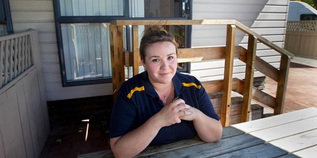 Sashah MacLeod is struggling to find a larger rental house. Photo / Ben Fraser
