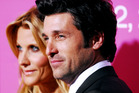 Actor Patrick Dempsey and his wife Jillian Dempsey. Photo / Getty Images