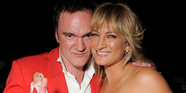 Loading Quentin Tarantino and Zoe Bell at the after party for the Los Angeles premiere of 'Whip It' at the Grauman's Chinese Theatre. Photo / Getty Images