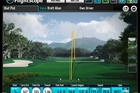 ON TRACK: A screenshot of three tee shots by Anita Chau.PHOTO/SUPPLIED