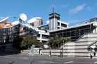 The TVNZ building in Auckland. Photo / Doug Sherring