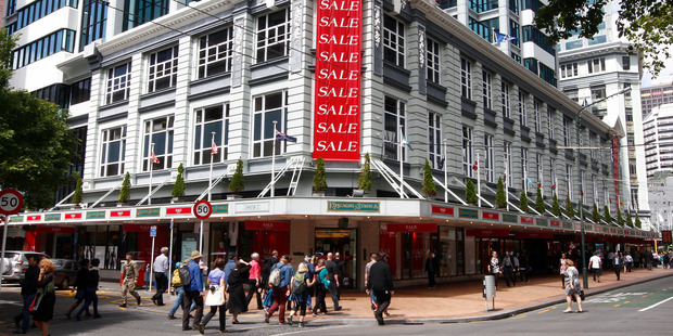 Wellington department store Kirkcaldie & Stains has been trading since 1863. Photo / Mark Mitchell