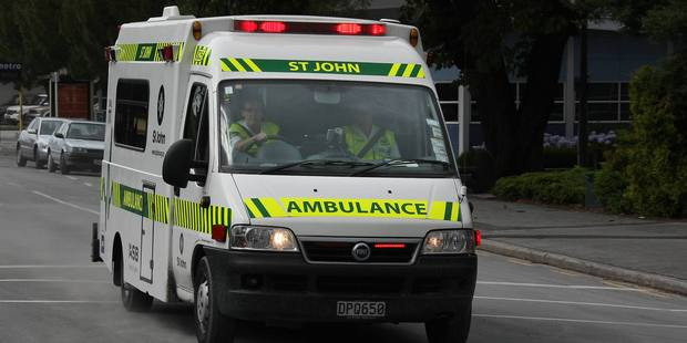 An ambulance was called to the farm near Arapuni after the 60-year-old man injured himself about 3pm. Photo / File