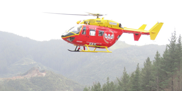 The Auckland Rescue Helicopter Trust operates two Westpac Rescue helicopters, servicing the greater Auckland and Coromandel regions. Photo / Supplied