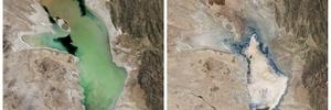 Bolivia's second-largest lake evaporates