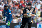 Colin Munro could earn a IPL contract after a strong T20 campaign for NZ. Photo / Alan Gibson.