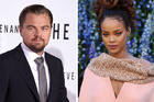 Actor Leonardo DiCaprio and pop star Rihanna. Photo / AP, AFP