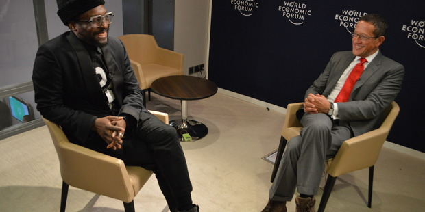 Richard Quest with will.i.am.