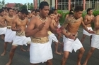 Street parade held in Apia, Samoa this morning to honour Joseph Parker ahead of his bout against American Southpaw, Jason Bergman tomorrow night.
