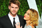 Actor Liam Hemsworth and Miley Cyrus. Photo / Getty Images