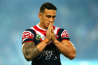 Sonny Bill Williams while playing for the Roosters in 2014. Photo / Getty Images