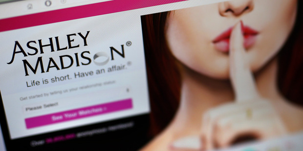 Last month, Ashley Madison flaunted new membership numbers, claiming that some 6.5 million people had signed up since the hack. Photo / Getty