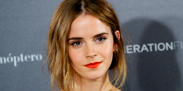 Actress Emma Watson. Photo / Getty Images