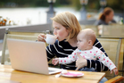 Older mothers are turning out to be big business for online 'news' sites. Photo / iStock