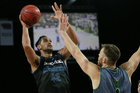Tai Wesley top-scored for the Breakers. Photo / photosport.nz