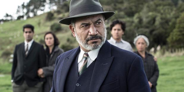 Loading Temuera Morrison in Mahana directed by Lee Tamahori.