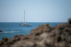 Simon Willis sailed for two weeks to reach medical help.