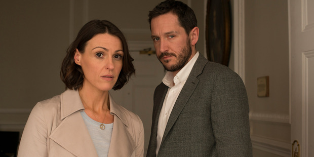 Gemma Foster's world comes crashing down when she suspects husband Simon is having an affair in the drama Doctor Foster, now airing on TV One.