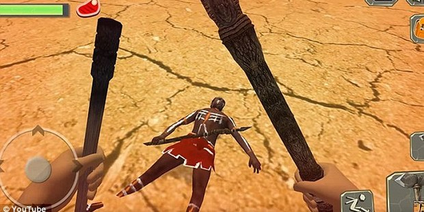 The controversial game allows players to slay indigenous Australians. Photo / File