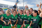 Manawatu took out the womans title at the National Sevens. Photo / Rotorua Daily Post