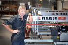 Chris Browne from Pederson Sawmills. Photo/Andrew Warner.