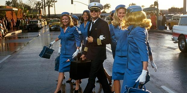 Leonardo DiCaprio in Catch Me If You Can. Photo / Supplied