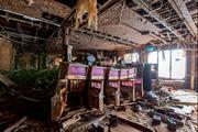 Photo from inside the sunken wreck of the cruise ship Costa Concordia. Photo / Jonathan Danko Kielkowski / White Press