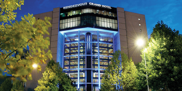The man was critically injured at Auckland's Rendezvous Hotel. Photo / Supplied