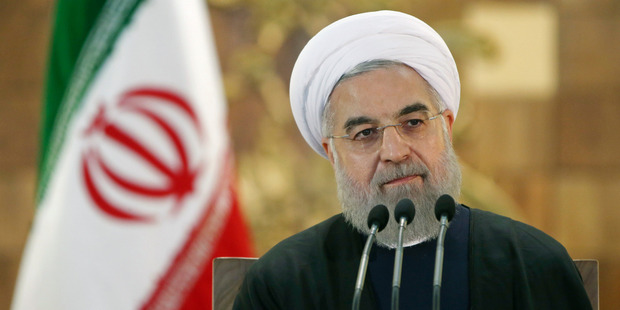 President Rouhani presented parliament with a draft budget that plans for an economic windfall even as it reduces reliance on oil revenues. Photo / AP