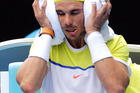 Rafael Nadal of Spain was knocked out of the Australian Open by compatriot Fernando Verdasco in the first round