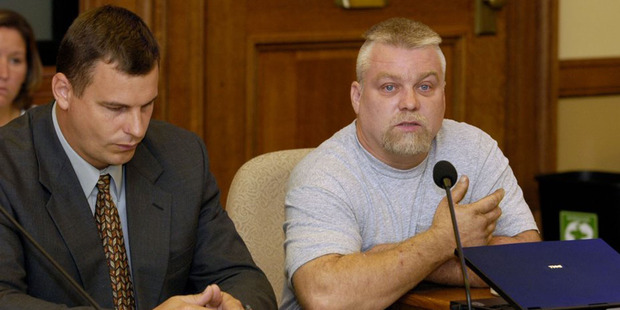 Loading Steven Avery in the Netflix original documentary series Making A Murderer. Photo / AP